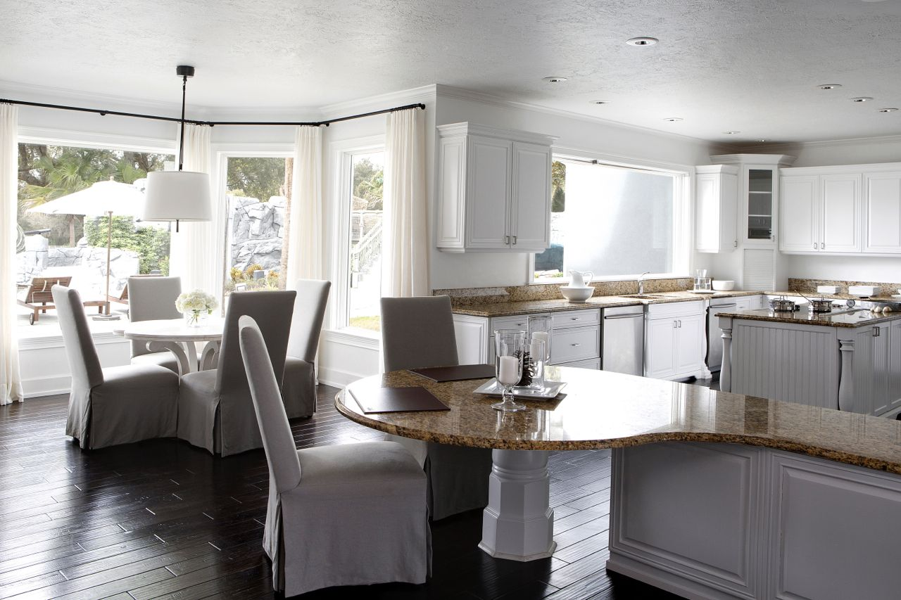 Taylor hannah architect ocala ranch taylor hannah for Eating kitchen ideas