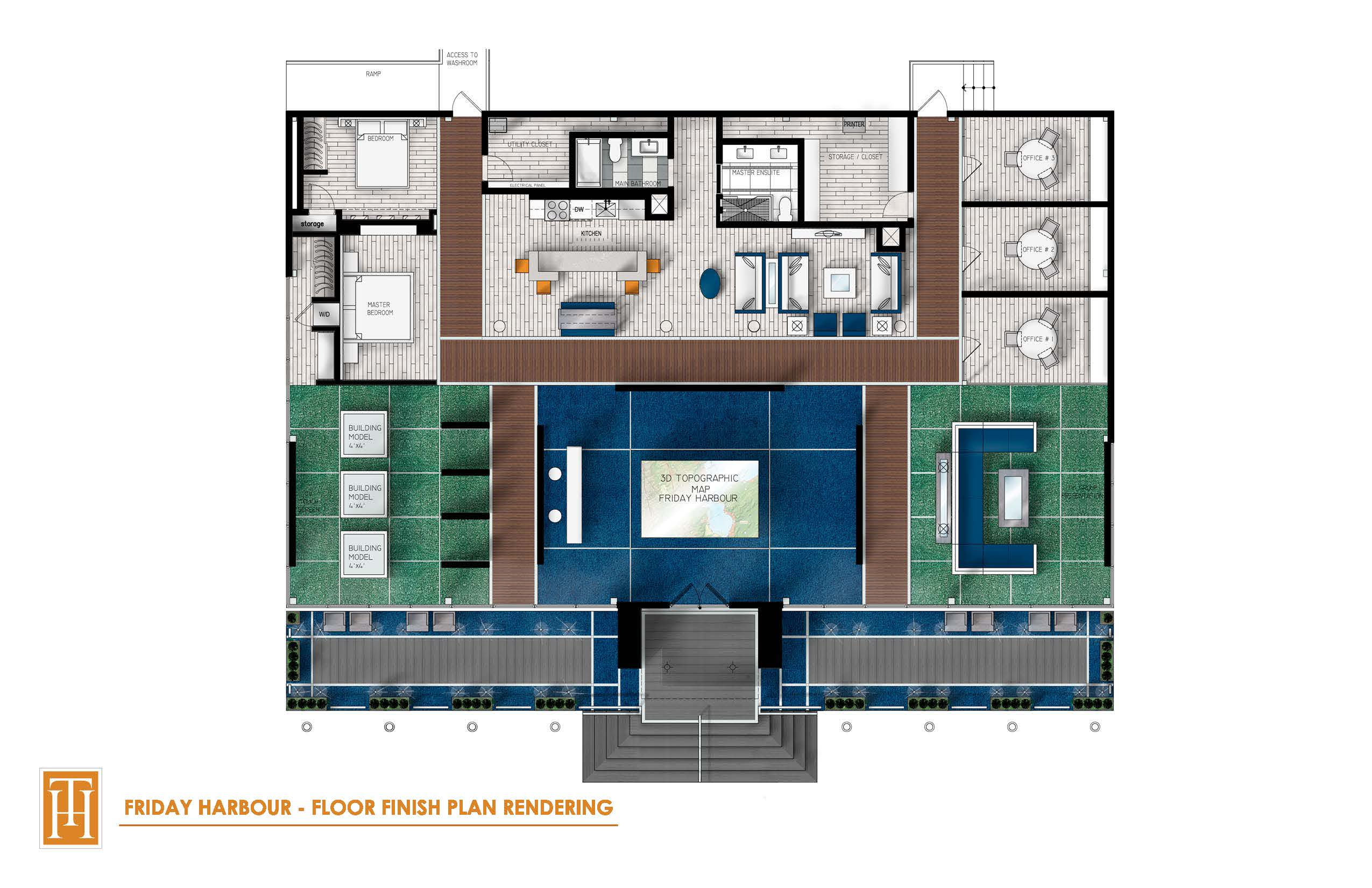 Friday Harbour Finish Floor Plan - 6 March 2014
