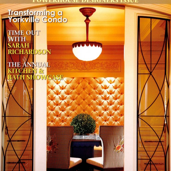 COVER OF MARCHAPRIL 2009