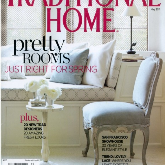 Traditional Home - May 2011 Cover